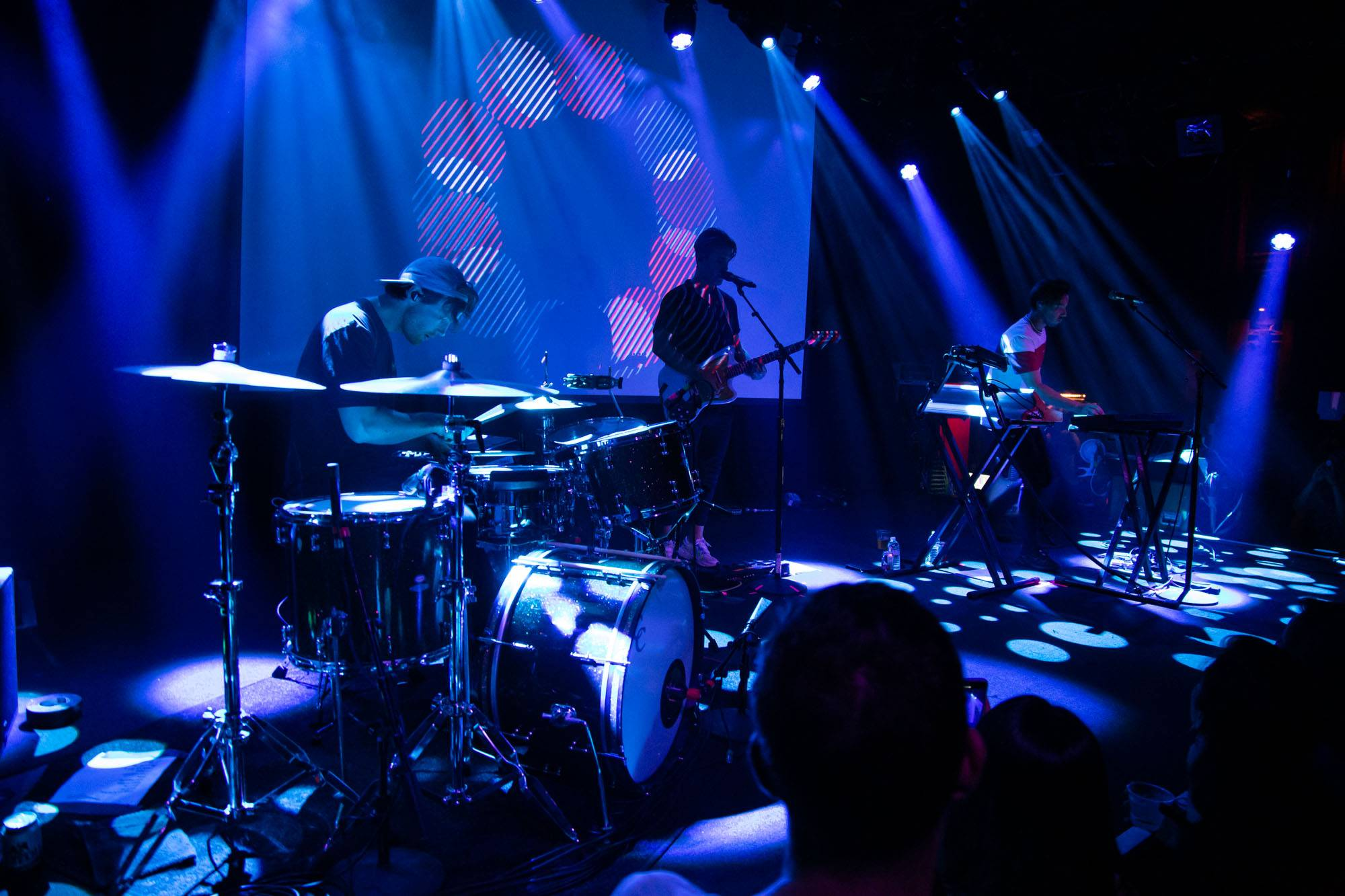 Crooked Colours at The Independent, San Francisco, Sep 26 2019. Kirk Chantraine photo.