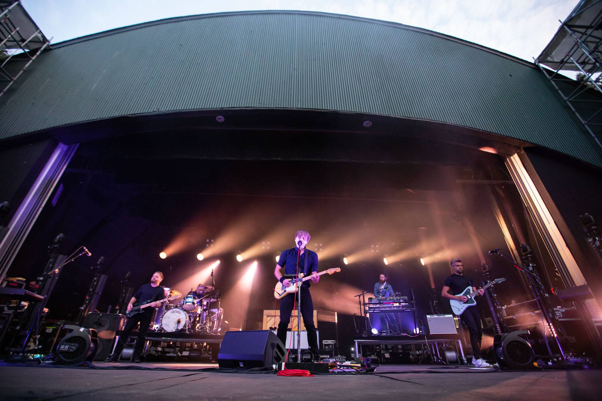 Death Cab for Cutie at the Malkin Bowl, Vancouver, Sep 5 2019. Kirk Chantraine photo.