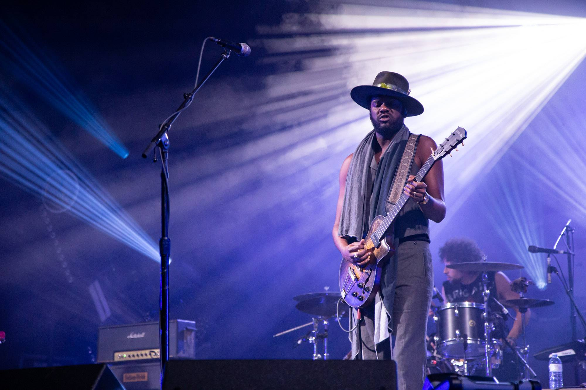 Gary Clark Jr. at the Malkin Bowl, Vancouver, Sep 10 2019. Kirk Chantraine photo.