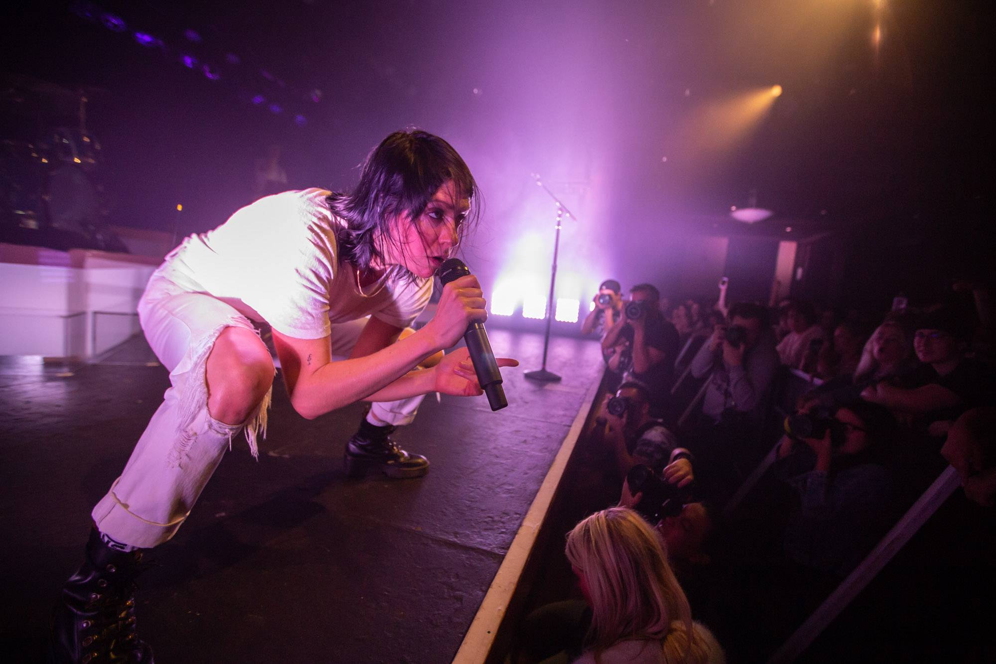 K. Flay at the Commodore Ballroom, Vancouver, Sep 9 2019. Kirk Chantraine photo.