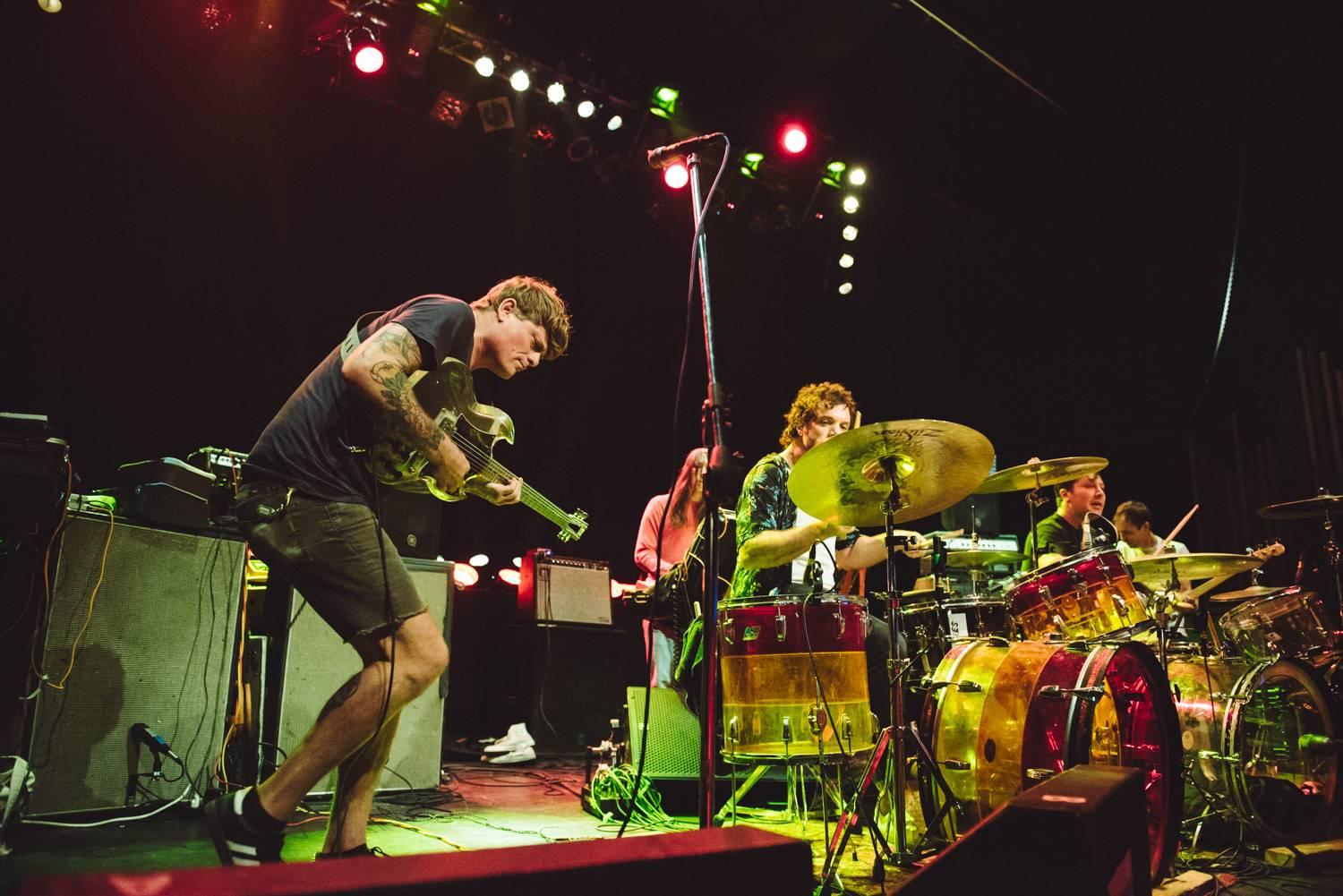 Oh Sees at the Rickshaw Theatre, Vancouver, Oct 7 2019. Pavel Boiko photo.