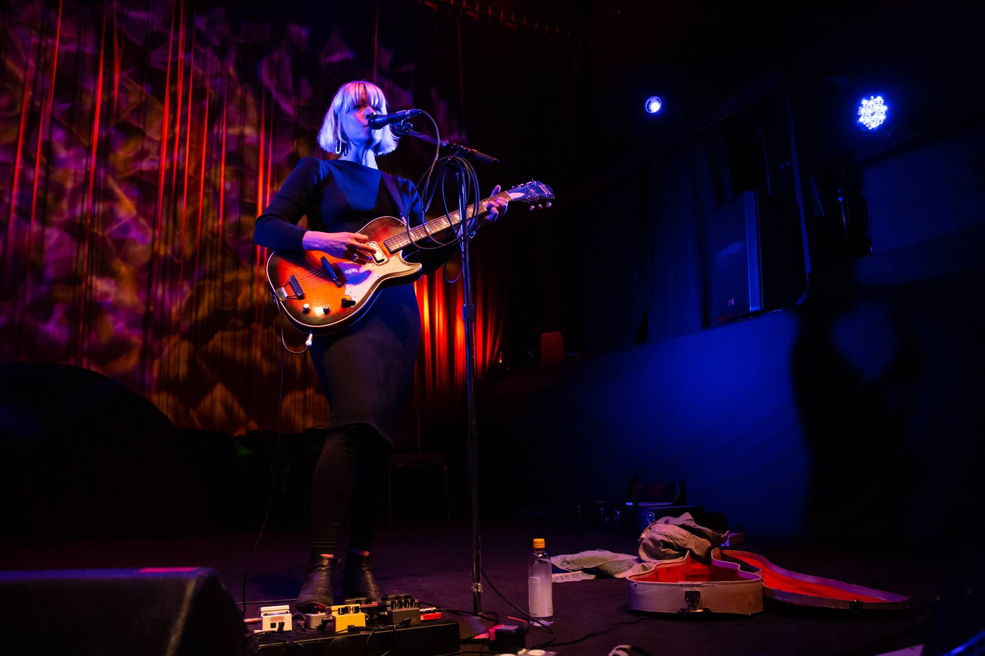 Corrina Repp at the Fox Cabaret, Vancouver, Oct 2 2019. Kirk Chantraine photo.