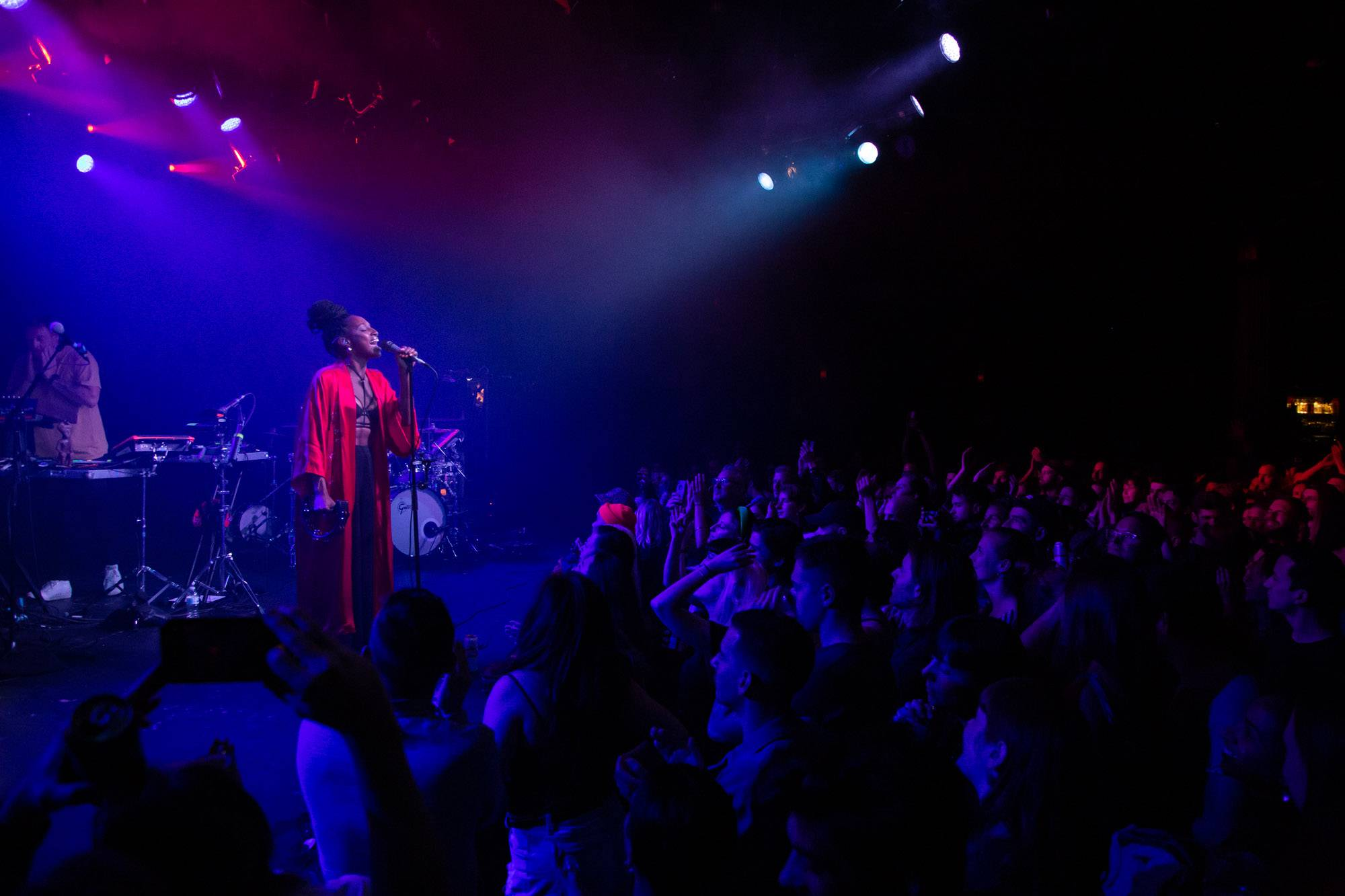 Maribou State at the Commodore Ballroom, Vancouver, Oct 10 2019. Kirk Chantraine photo.