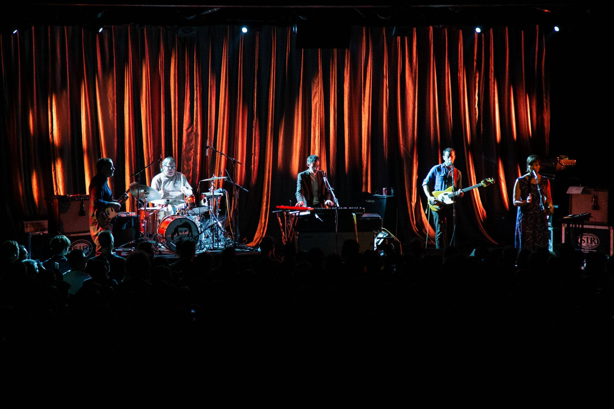 Stereolab at the Commodore Ballroom, Vancouver, Oct 14 2019. Kirk Chantraine photo.