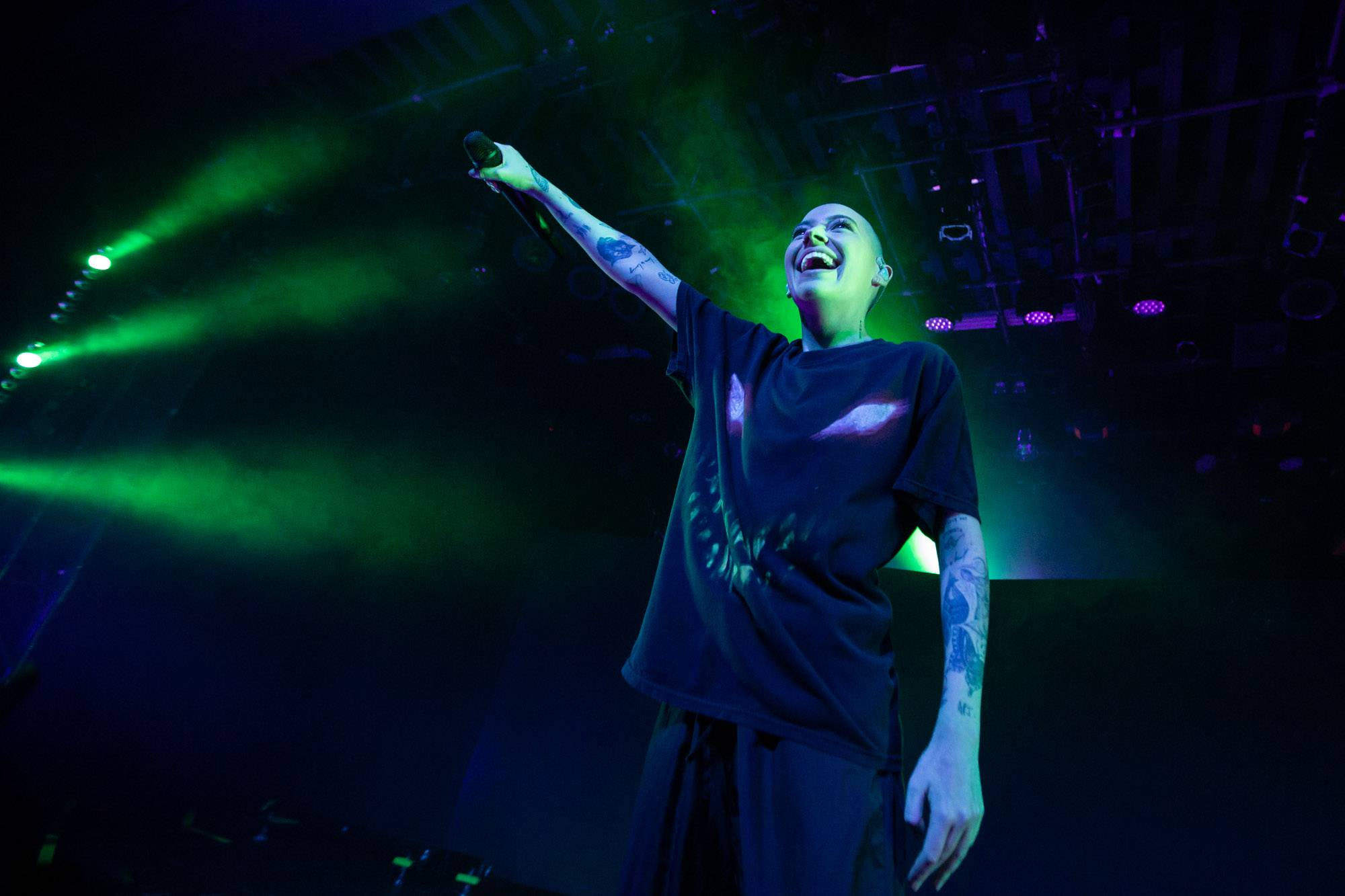 Bishop Briggs at the Commodore Ballroom, Vancouver, Nov 4 2019. Kirk Chantraine photo.
