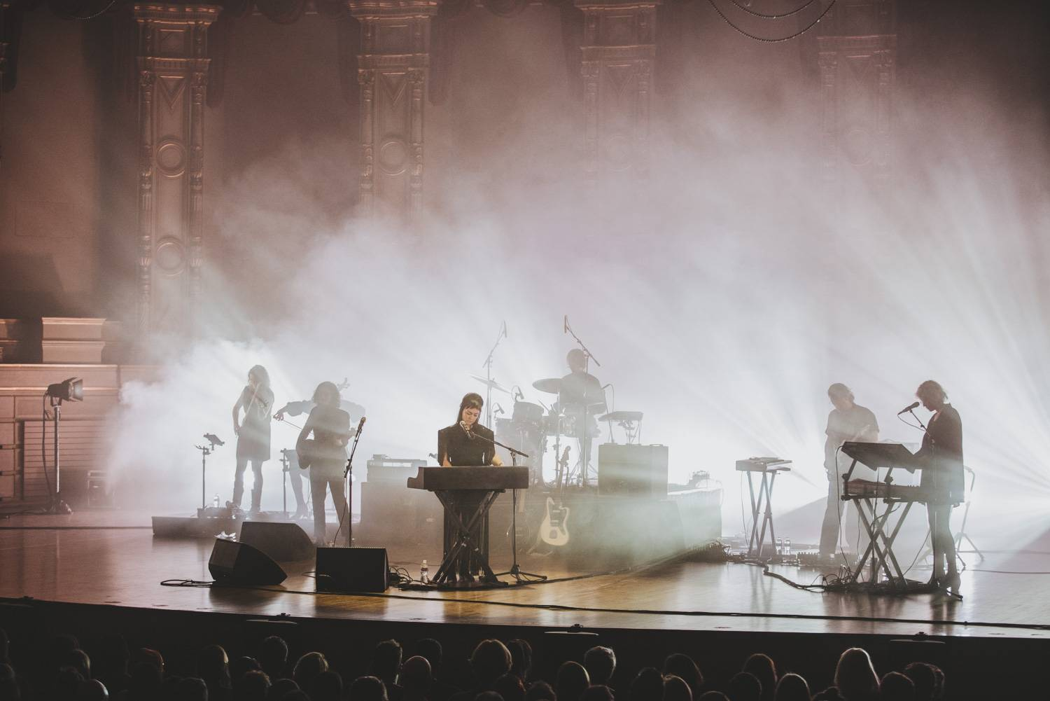 Angel Olsen at the Orpheum Theater, Vancouver, Dec 10 2019. Pavel Boiko photo.
