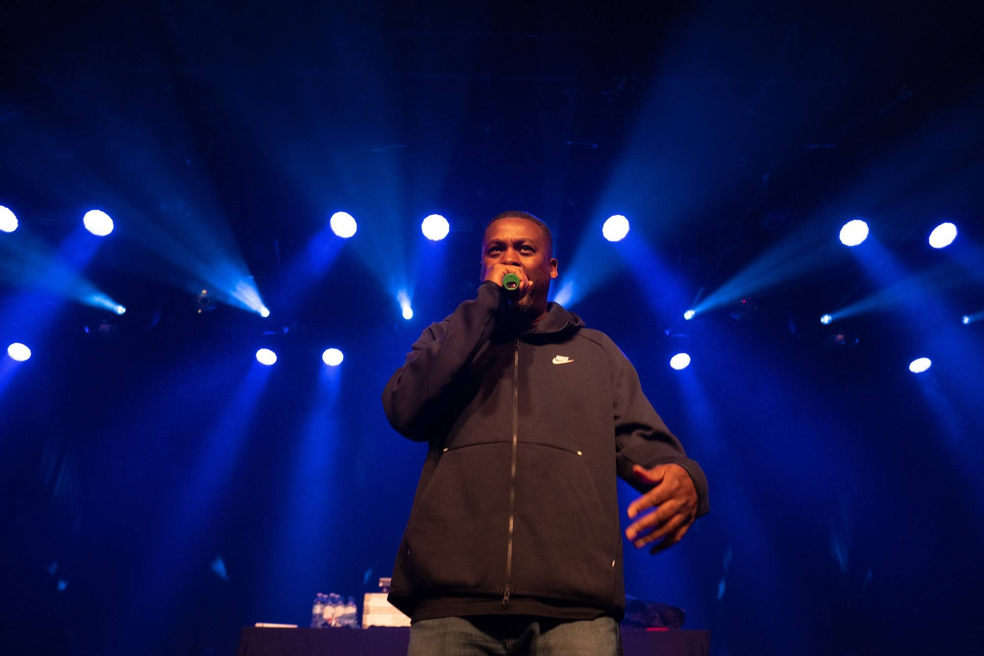 GZA at the Commodore Ballroom, Vancouver, Jan 20 2020. Scott Alexander photo.