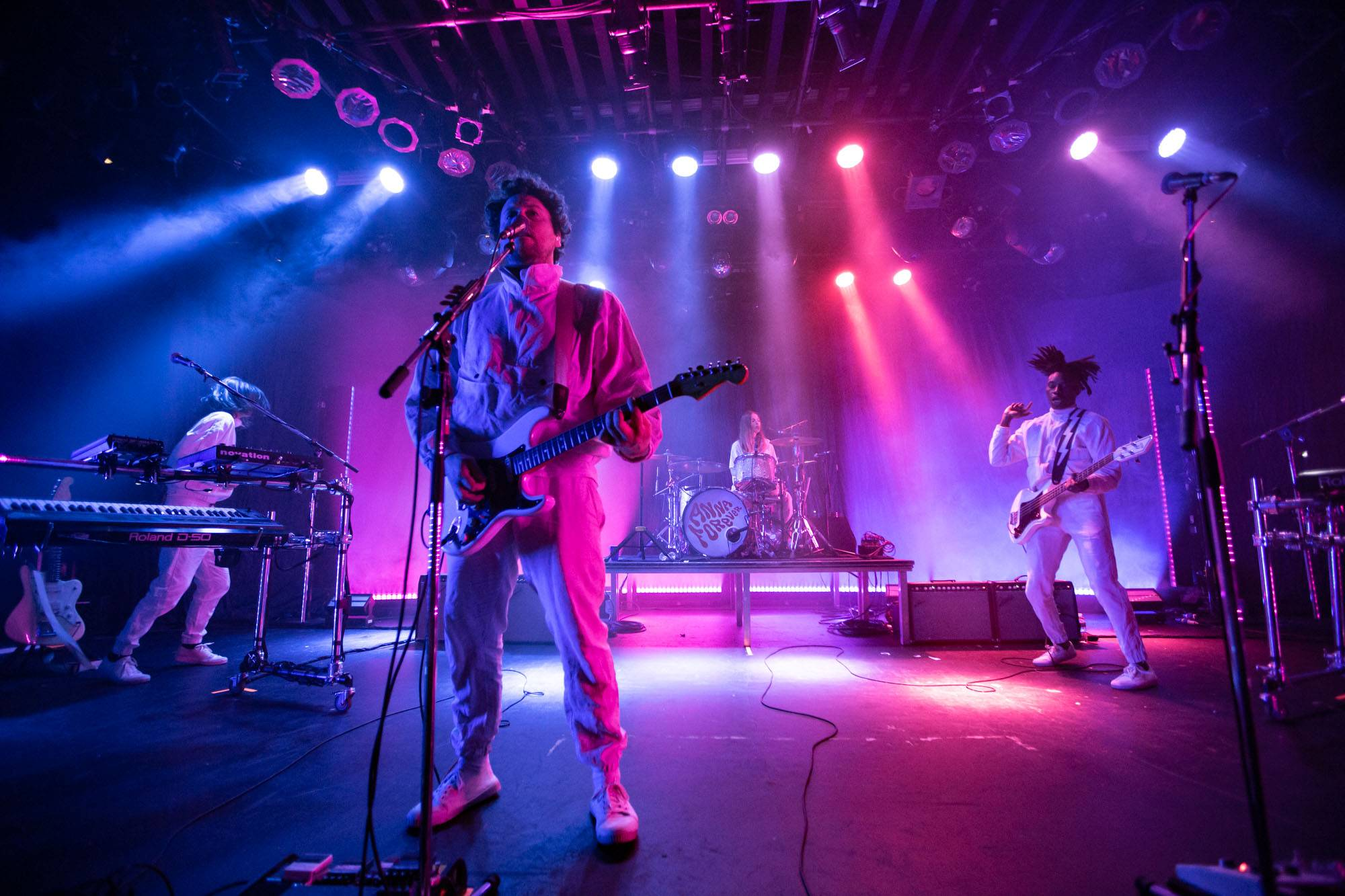 Metronomy at the Commodore Ballroom, Vancouver, Feb 18 2020. Kirk Chantraine photo.