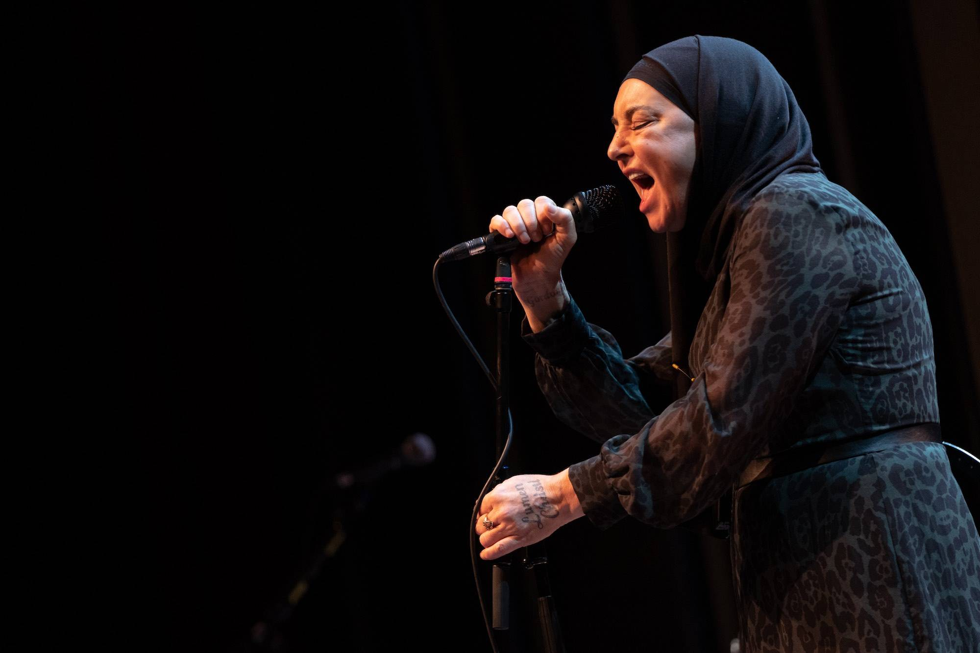 Sinead O'Connor at the Vogue Theatre, Vancouver, Feb 1 2020. Scott Alexander photo.