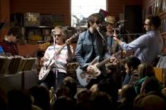 Broken Social Scene at various indie record stores, Toronto, May 9 2010