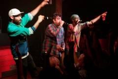 Das Racist at Fortune Sound Club, Vancouver, Feb 7 2011. Ashley Tanasiychuk photos