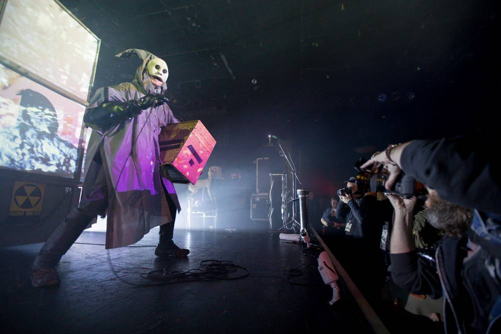 Skinny Puppy At The Commodore Ballroom The Snipe News
