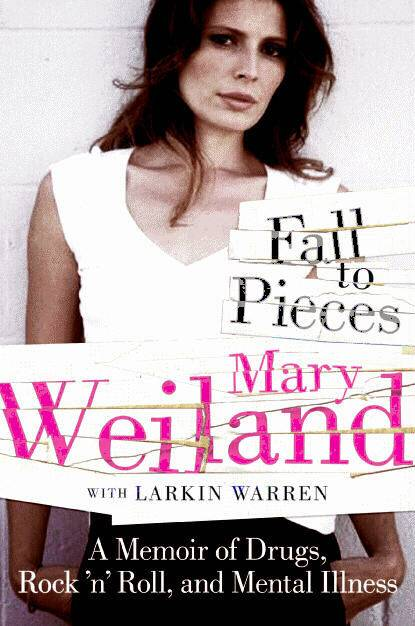 Cover to Mary Weilland's book Fall to Pieces.