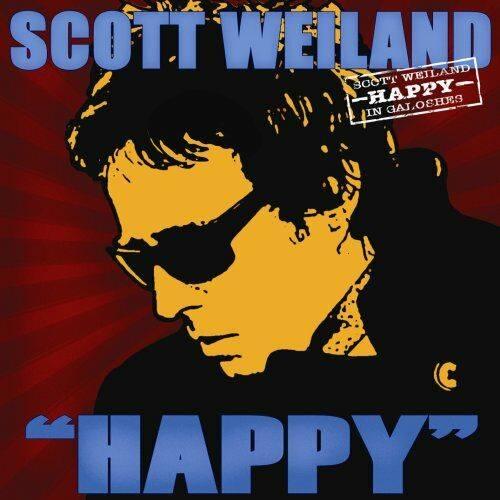 """Album cover for Scott Weiland's album """"Happy"""" In Galoshes"""