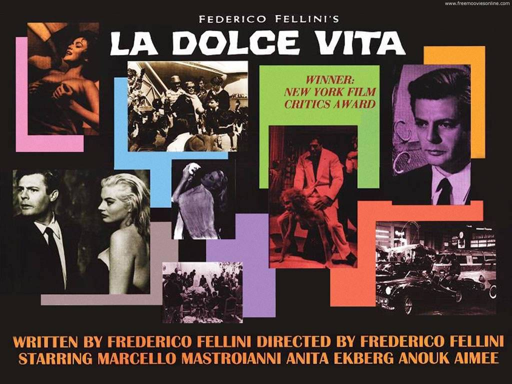 La Dolce Vita (1960) movie poster
