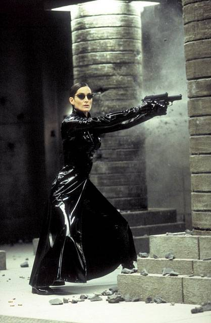 Carrie Anne Moss in The Matrix