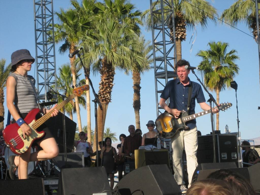 Superchunk at the Coachella Music & Arts Festival 2009 photo