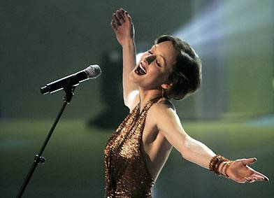 Sarah Slean at the Canadian Songwriters' Hall of Fame Gala in 2005