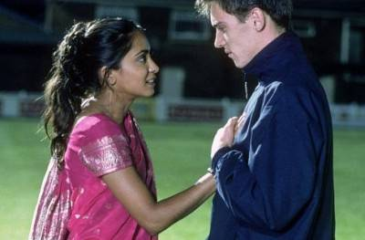 Parminder Nagra Jonathan Rhys Meyers movie image Bend It Like Beckham