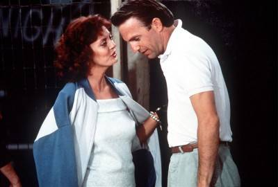 Susan Sarandon Kevin Costner photo Bull Durham movie