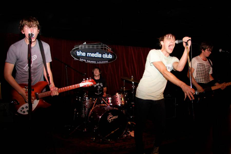 Cut Off Your Hands at the Media Club photo