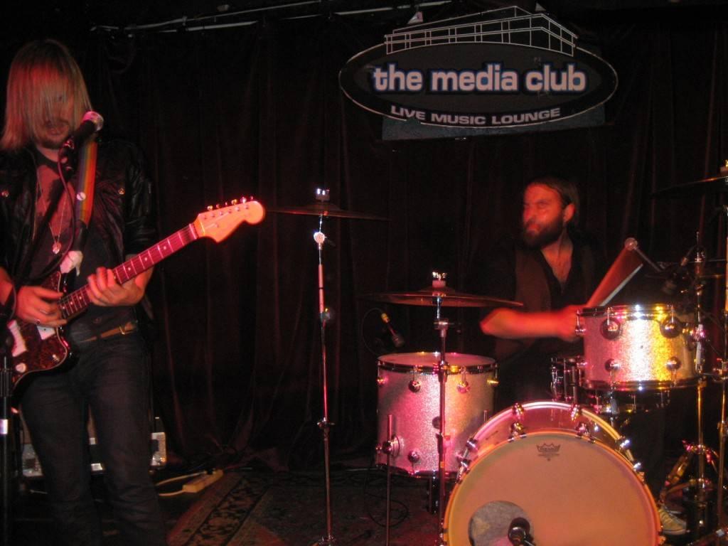 Band of Skulls at Media Club