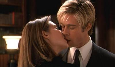 Claire Forlani Brad Pitt movie image Meet Joe Black