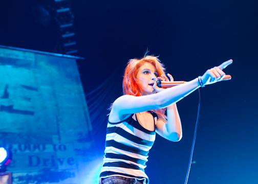 Paramore at GM Place, July 18, 2010. Melissa Skoda photo