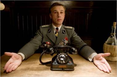Christoph Waltz in Inglourious Basterds movie image
