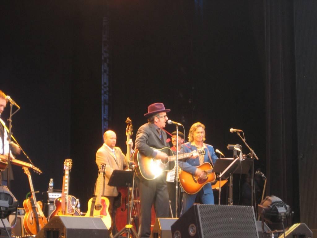 Elvis Costello at Malkin Bowl photo