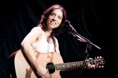 Ani DiFranco concert photo