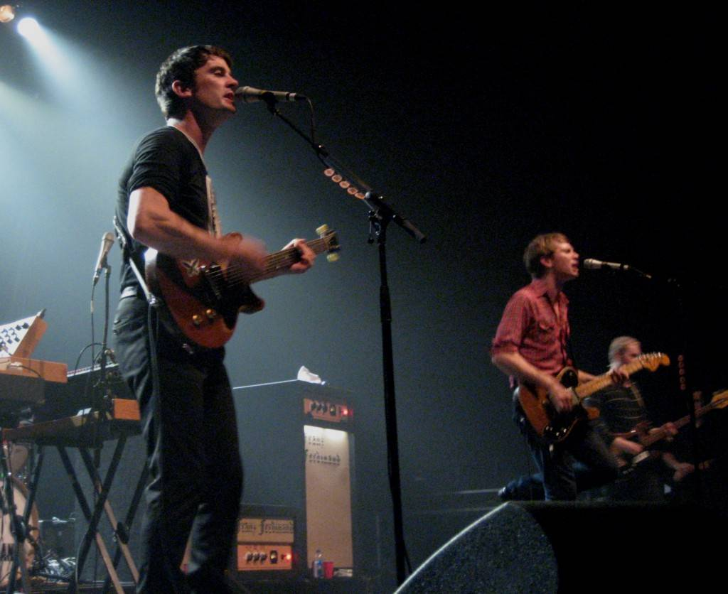 Franz Ferdinand concert photo