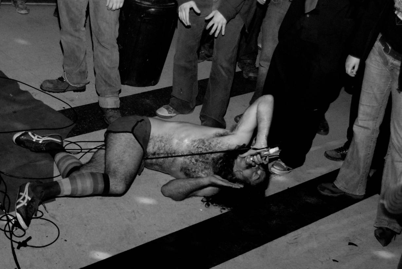 Monotonix at the Pyramid Cabaret photo