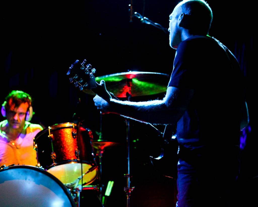 William Goldsmith and Nate Mendel of Sunny Day Real Estate photo