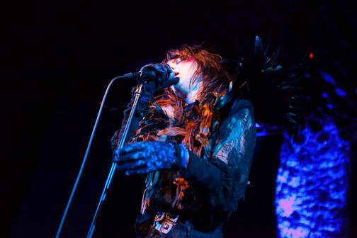 Juliette Lewis at the Commodore Ballroom, 2009