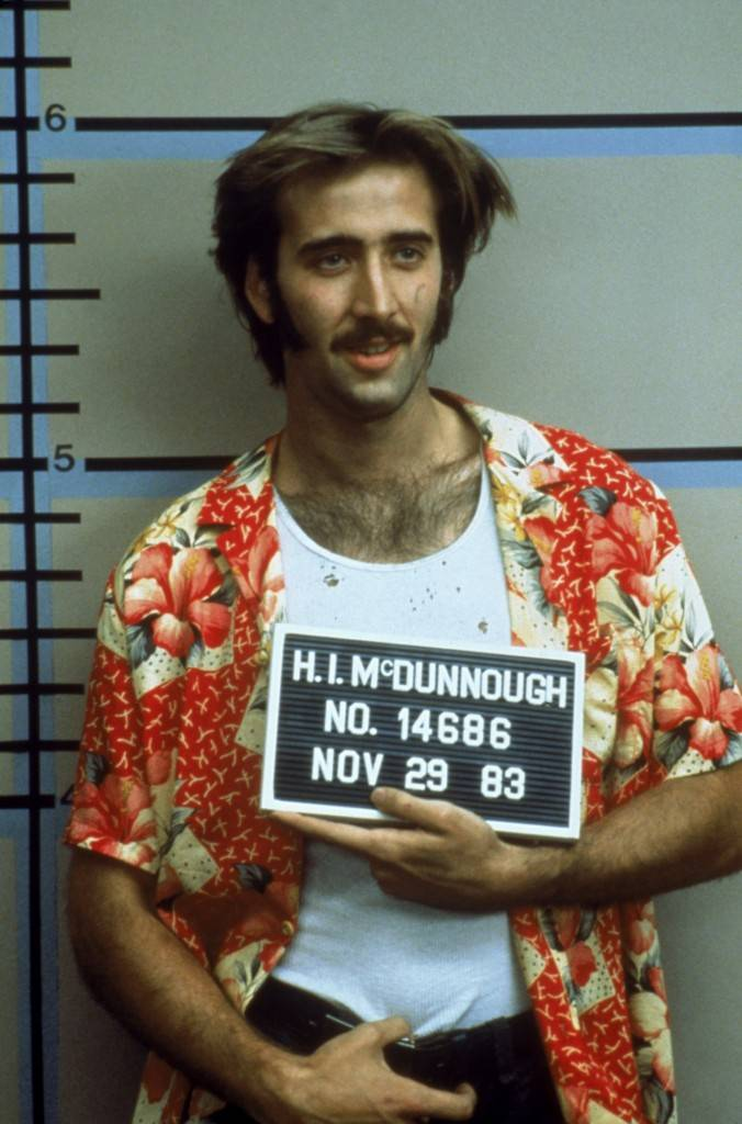movie photos Nicolas Cage Raising Arizona