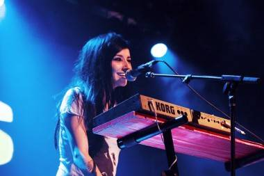 Lights at the Commodore Ballroom
