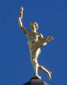 Mercury or Hermes Trismegistus, mythical alchemist?