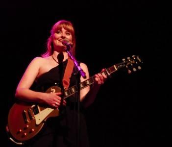 Jenn Grant at the Park Theatre, Winnipeg, Feb 9 2010. Jill Latschislaw photo