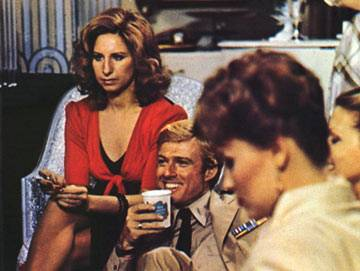 Redford, Streisand - Babs is not happy.