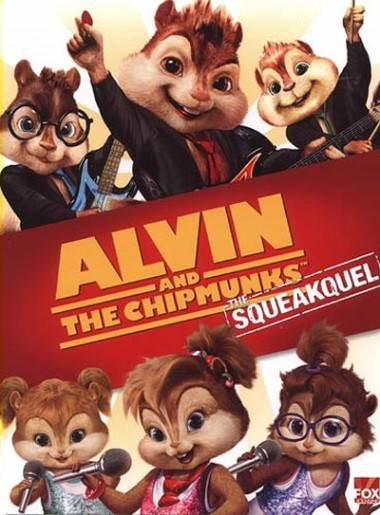 Alvin and Chipmunks Squeakquel movie poster