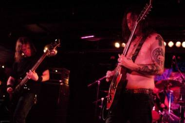 High on Fire concert photo