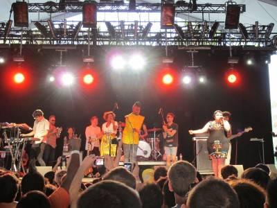 Gossip at Coachella 2010