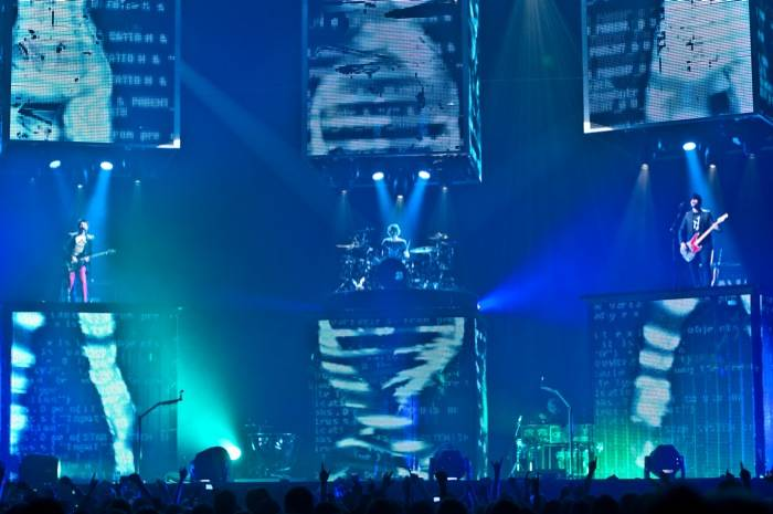 Muse Vancouver Pacific Coliseum, April 1 2010. Michael Caswell photo