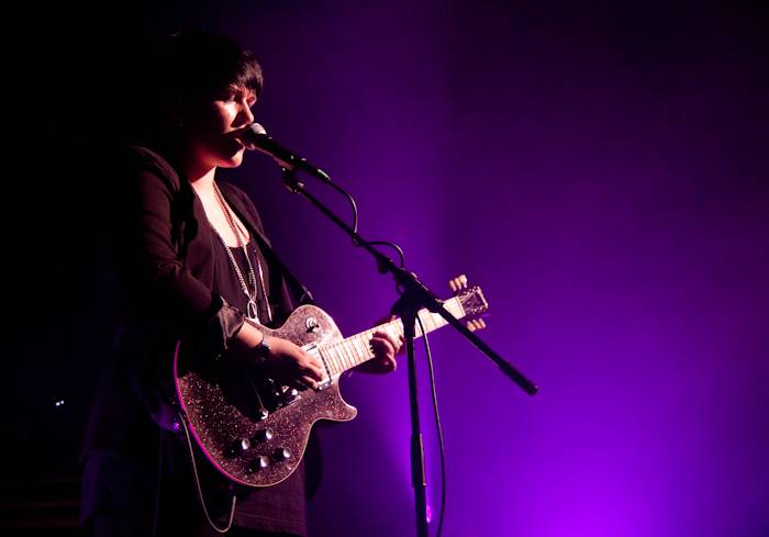 The xx at the Commodore, April 13 2010.