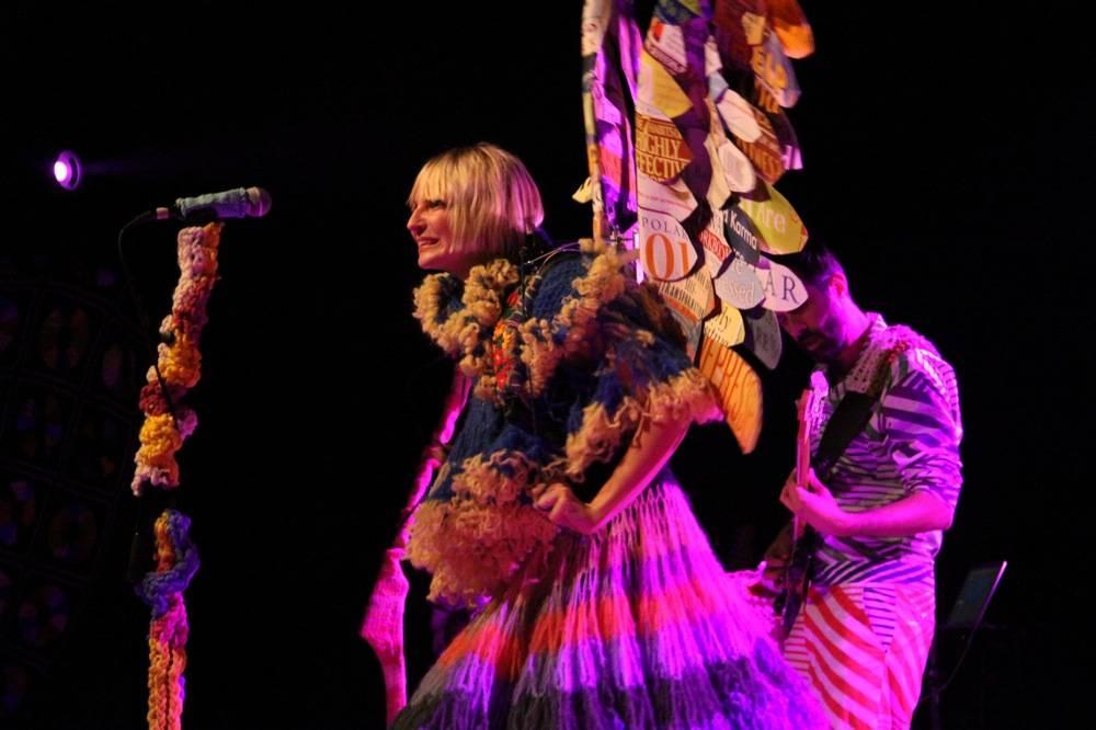 Sia at the Commodore Ballroom, Vancouver, April 10 2010. Robyn Hanson photo