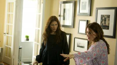 Catherine Keener and Nicole Holofcener.