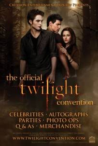 Official Twilight Convention poster