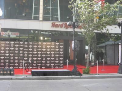 Hard Rock Cafe Seattle.