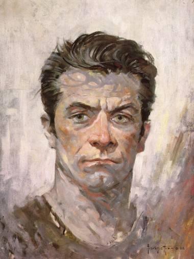 Frank Frazetta self-portrait